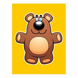 Cartoon Teddy Bear Postcard