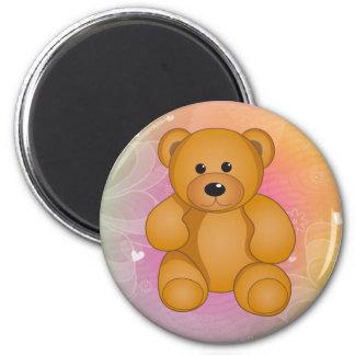 Cartoon Teddy Design Magnet