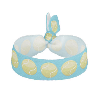Cartoon Tennis Balls Elastic Hair Tie