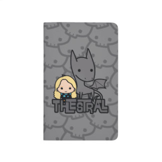Cartoon Thestral and Luna Character Art Journal