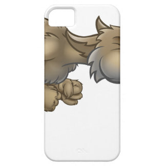 Cartoon Three Little Pigs Big Bad Wolf Blowing iPhone SE/5/5s Case