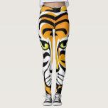 "Cartoon tiger Animal Print Leggings<br><div class=""desc"">Cartoon tiger Animal Print Leggings by BOLO Designs.</div>"