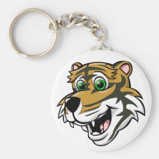 Cartoon Tiger Keychain