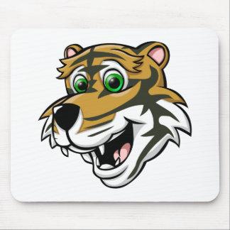 Cartoon Tiger Mouse Pad