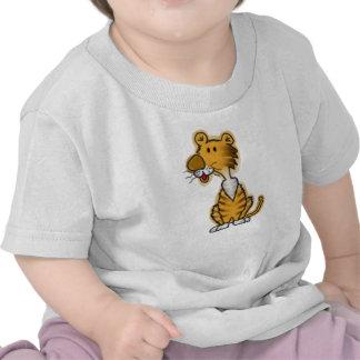 Cartoon Tiger T Shirts