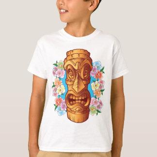 Cartoon Tiki Statue T-Shirt