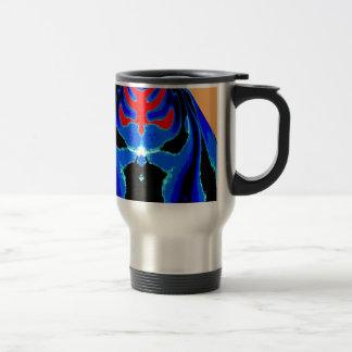 Cartoon TIN MAN Blue 15 Oz Stainless Steel Travel Mug
