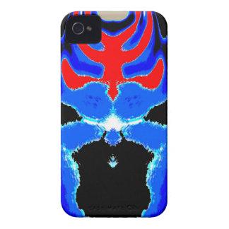Cartoon TIN MAN Blue Case-Mate iPhone 4 Cases