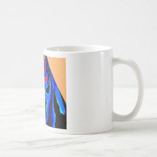Cartoon TIN MAN Blue Classic White Coffee Mug