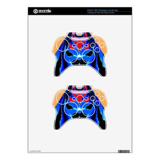 Cartoon TIN MAN Blue Xbox 360 Controller Skins