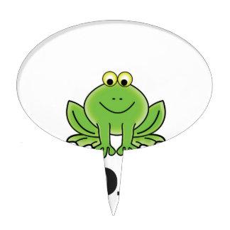 cartoon toad yeah cake topper