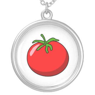 Cartoon Tomato Necklace