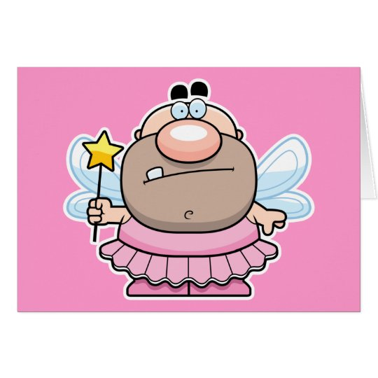 Cartoon Tooth Fairy Card