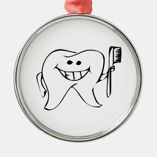 Toothbrush ornaments ornament designs zazzle