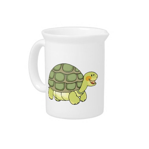 cartoon tortoise drink pitchers