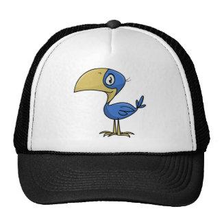 Cartoon Toucan Bird Trucker Hat