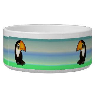 Cartoon Toucan Bowl