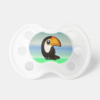 Cartoon Toucan Pacifier
