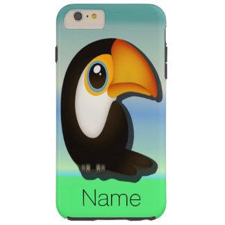 Cartoon Toucan Tough iPhone 6 Plus Case