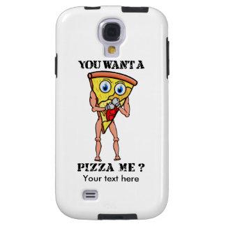 Cartoon Trash Talking Pizza Boxing Galaxy S4 Case
