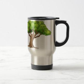 Cartoon Tree Travel Mug