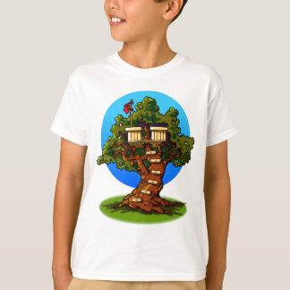 Cartoon Treehouse T-Shirt