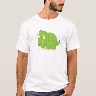 Cartoon Triceratops Dinosaur T-Shirt