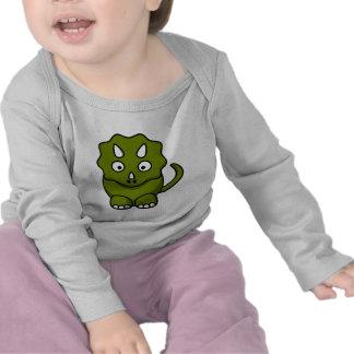 Cartoon triceratops t-shirts