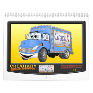 Cartoon Truck Calendar