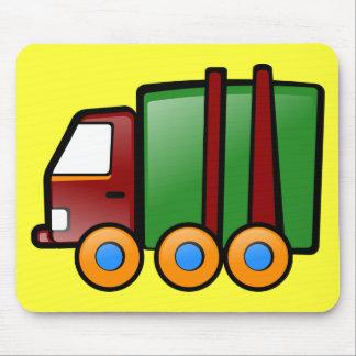 Cartoon Truck Mouse Pad