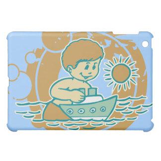 Cartoon Tugboat Play Blue iPad Mini Cases