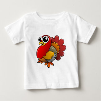 Cartoon Turkey Baby T-Shirt