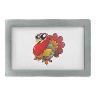 Cartoon Turkey Belt Buckle