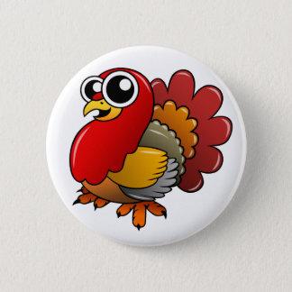 Cartoon Turkey Button