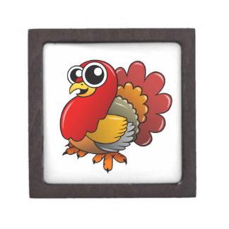 Cartoon Turkey Jewelry Box