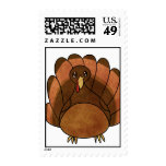 Cartoon Turkey Postage Stamps