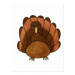 Cartoon Turkey Postcard