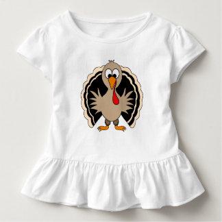 Cartoon Turkey Toddler T-shirt