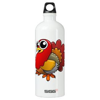 Cartoon Turkey Water Bottle