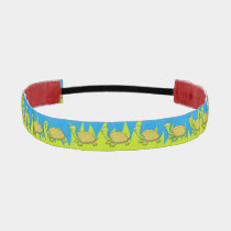 Cartoon Turtle Athletic Headband