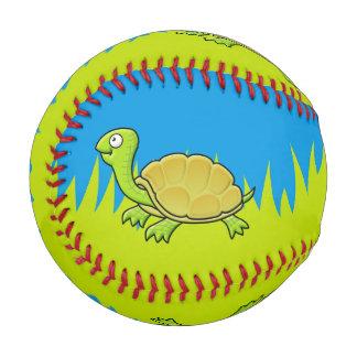 Cartoon Turtle Baseball