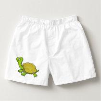 Cartoon Turtle Boxers