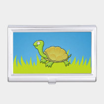 Cartoon Turtle Business Card Holder