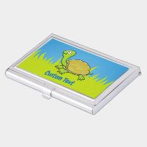 Cartoon Turtle Business Card Holder