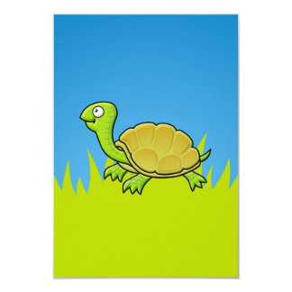 Cartoon Turtle Card