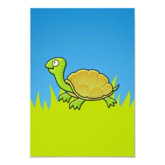 Cartoon Turtle Card