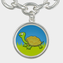 Cartoon Turtle Charm Bracelet