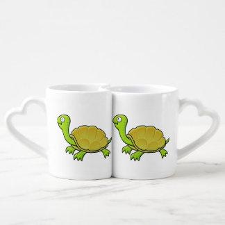 Cartoon Turtle Coffee Mug Set