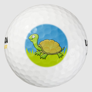 Cartoon Turtle Golf Balls