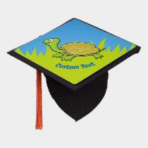 Cartoon Turtle Graduation Cap Topper